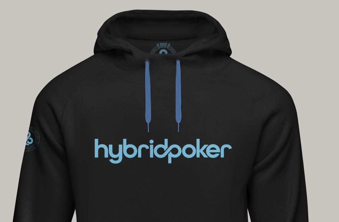 hybrid poker sweat shirt