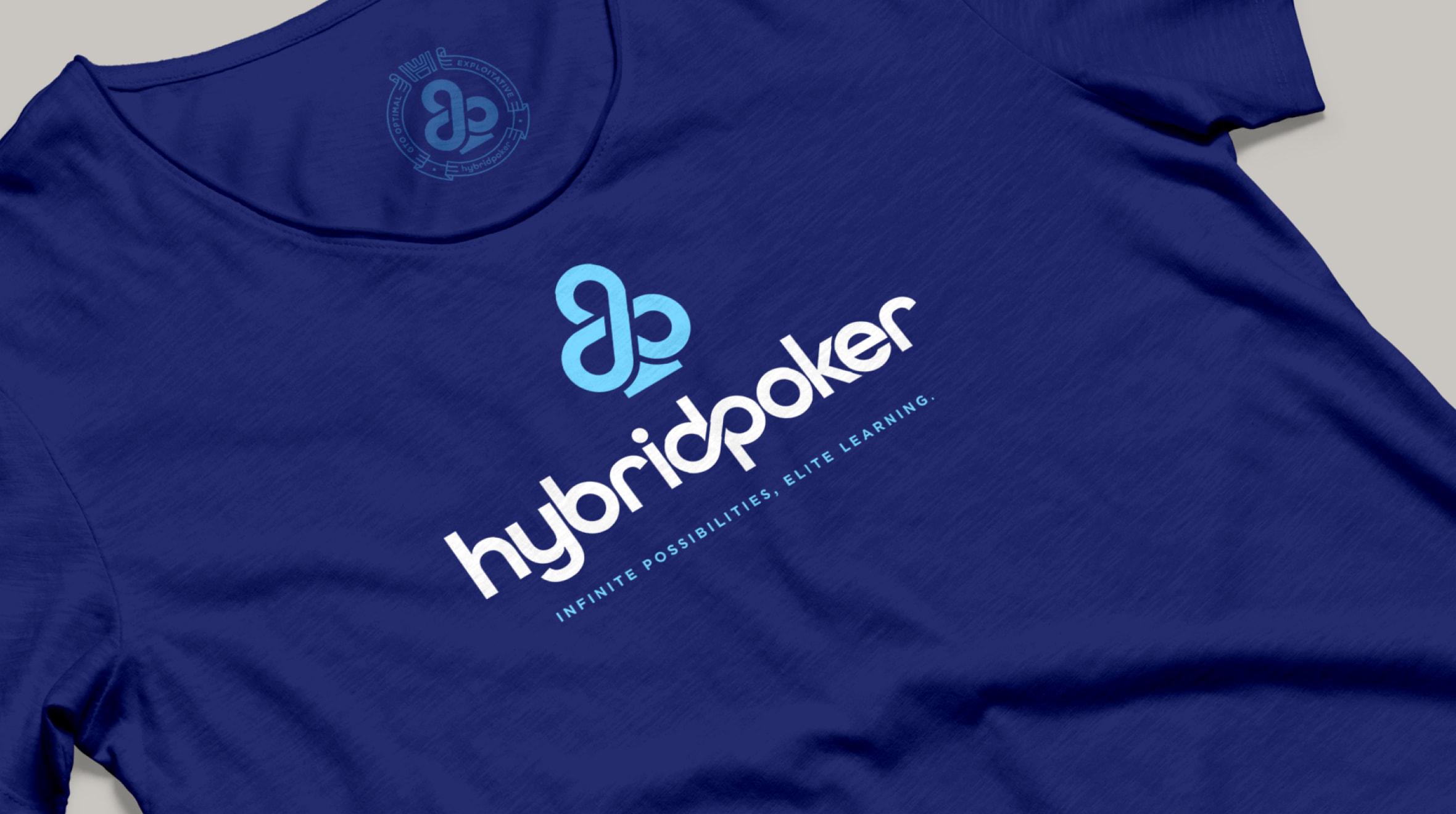 hybrid poker tee shirt