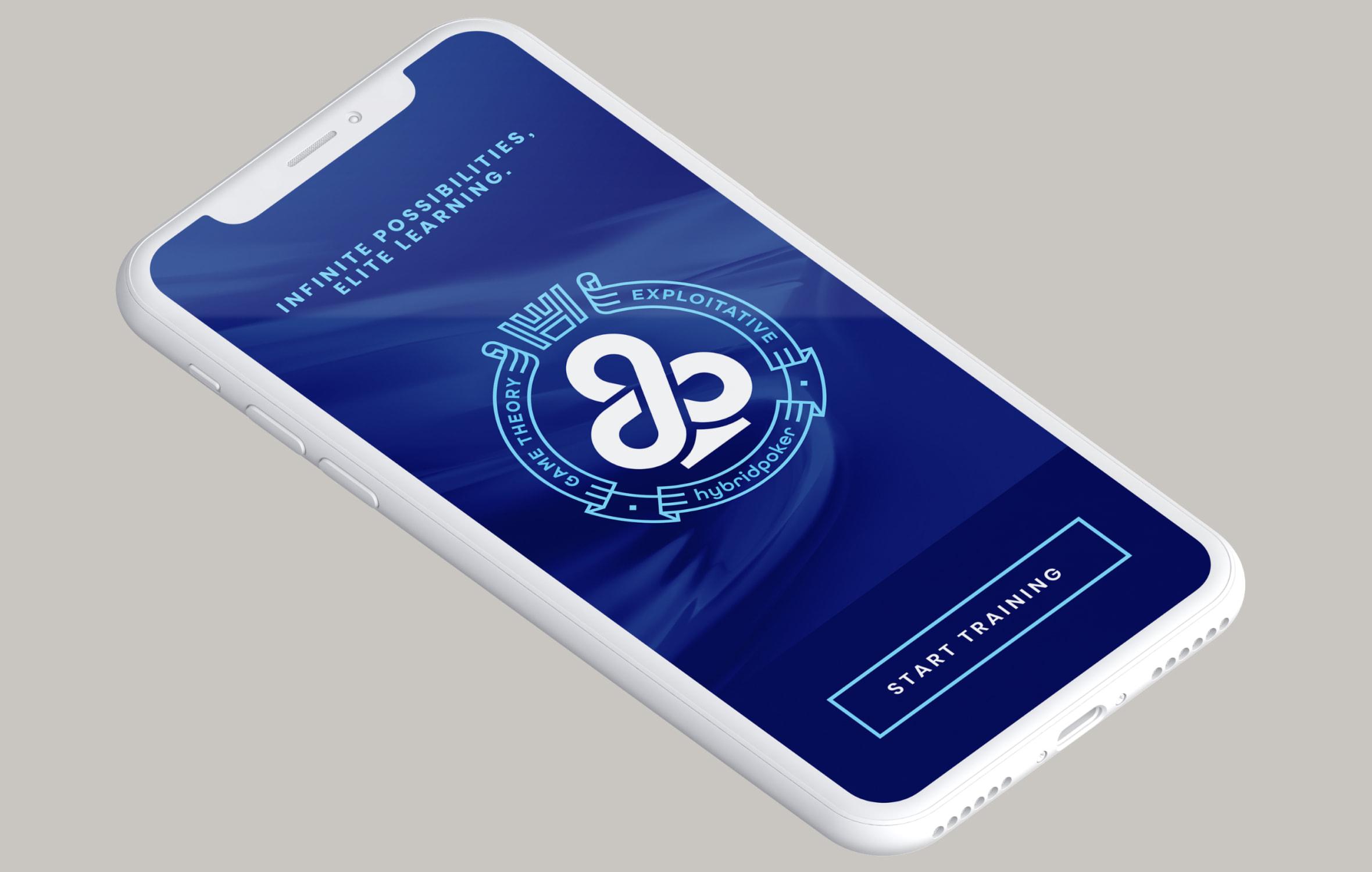 hybrid poker app screen