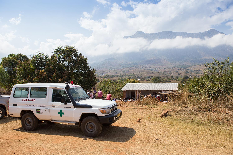 GAIA Mobile Health Clinic in Mulanje, Malawi