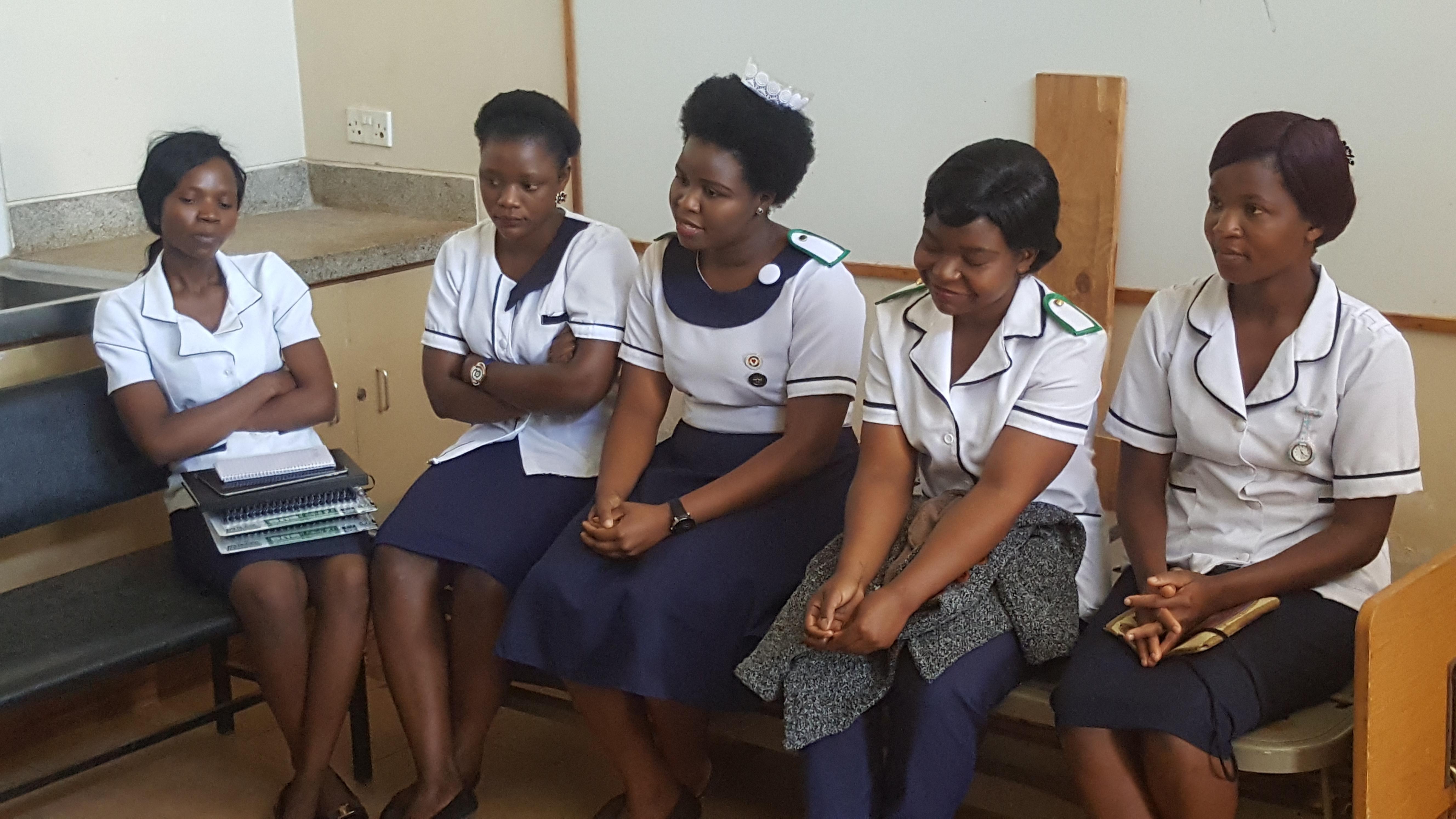 GAIA nursing scholars getting degree in Malawi