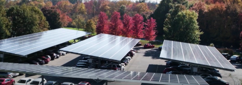 microgrid carport on siemens Princeton resilient campus