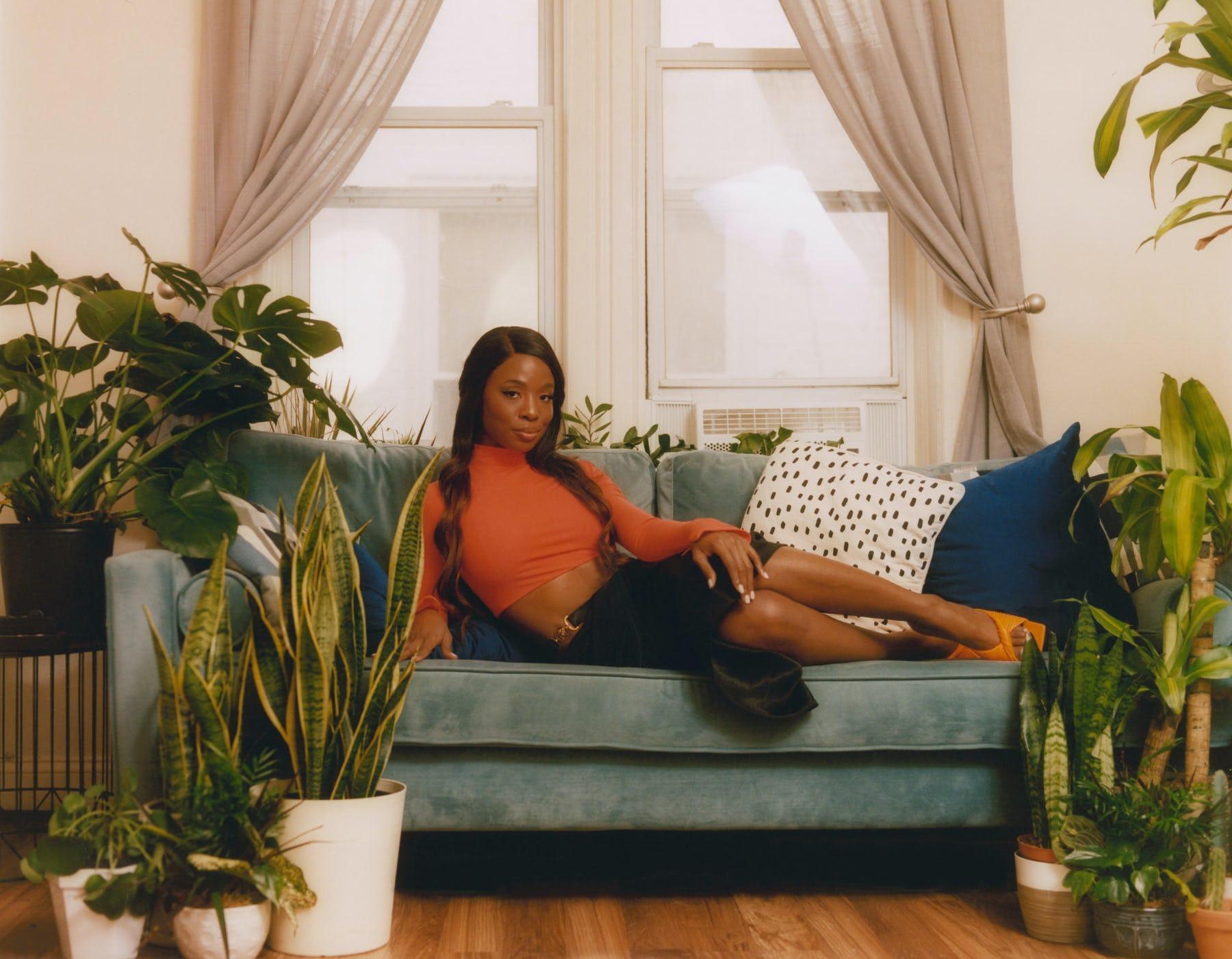 Sydnee Washington for W Magazine