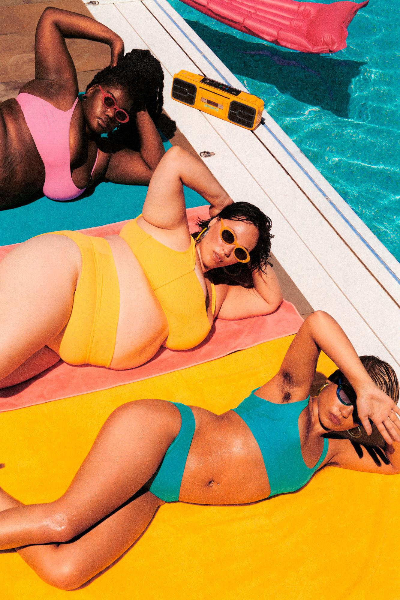 Billie Summer Colorblock Razor Campaign