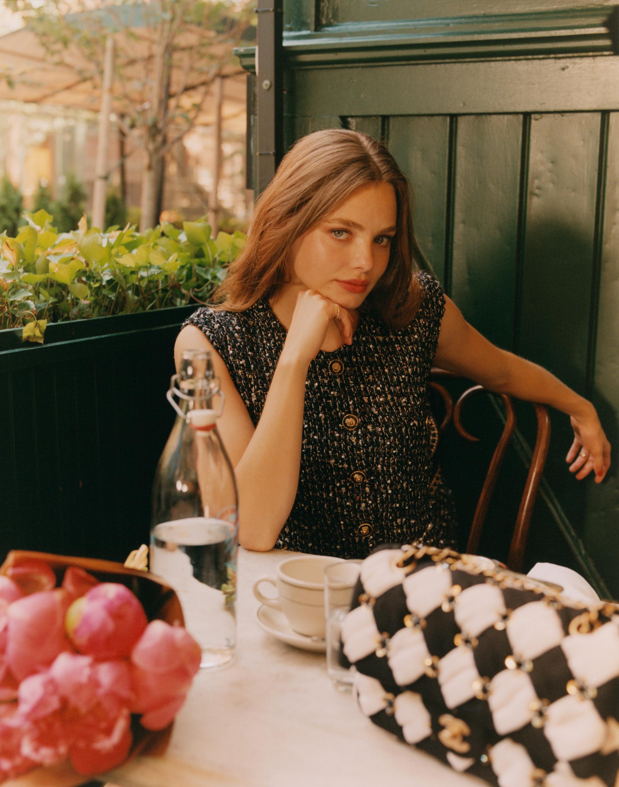 Kristine Froseth for ELLE Magazine