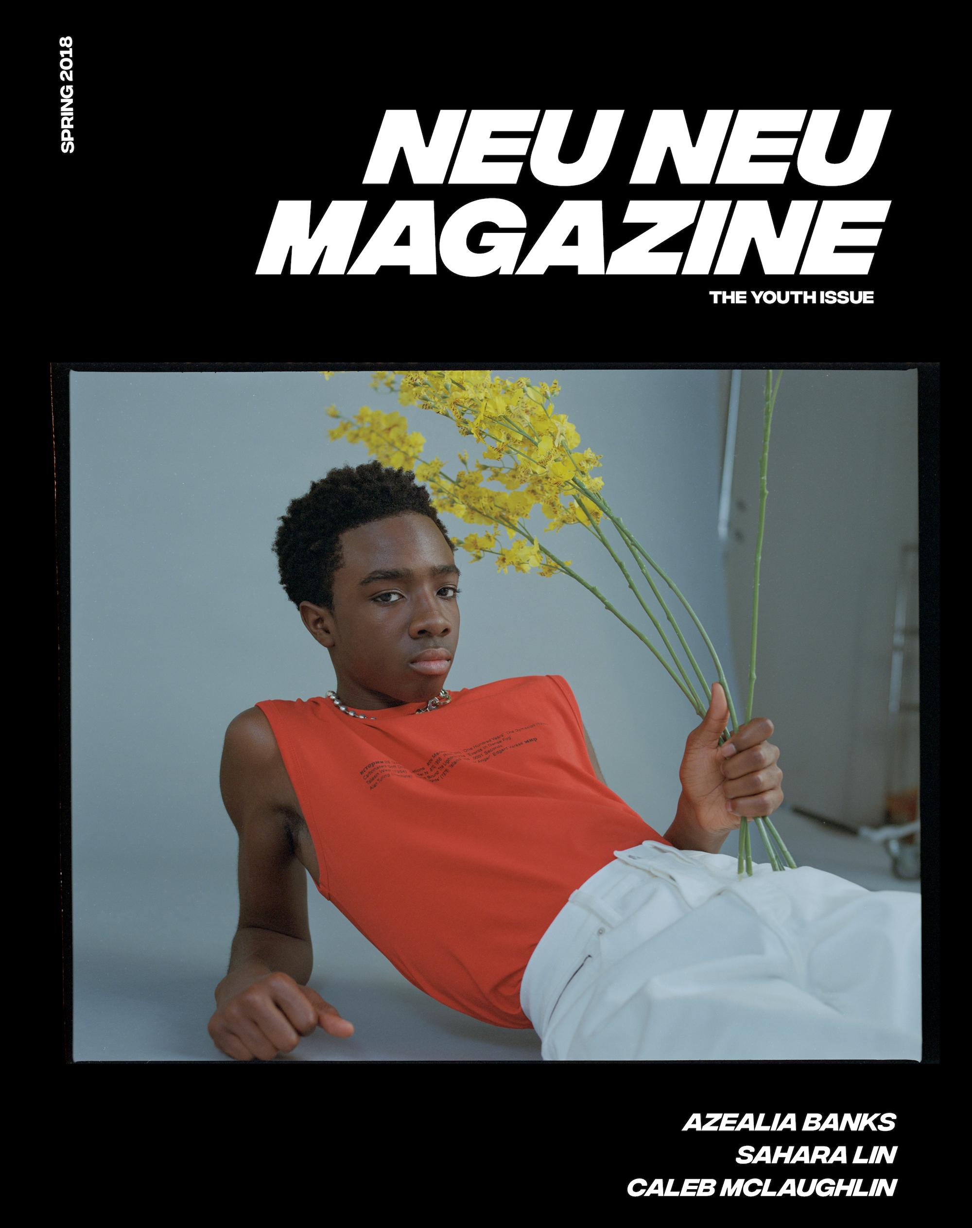 Neu Neu Magazine ft. Caleb McLaughlin