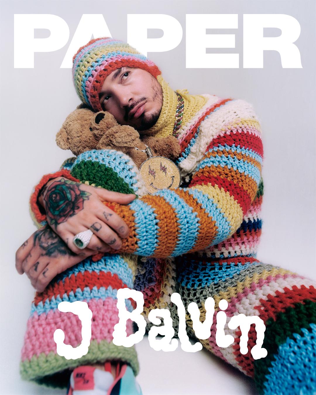 J Balvin for PAPER Magazine