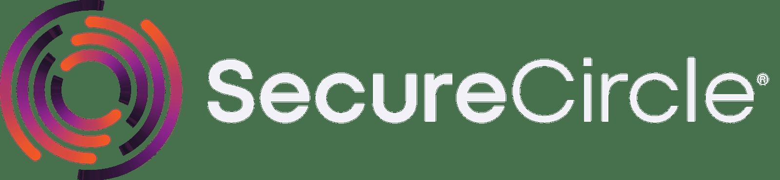 SecureCircle logo dark background