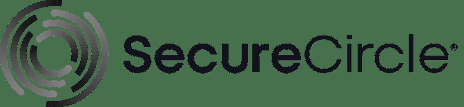 SecureCircle primary greyscale logo