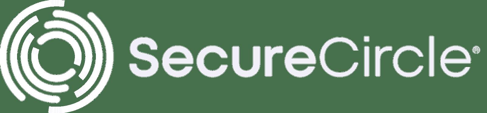 SecureCircle alternate white logo