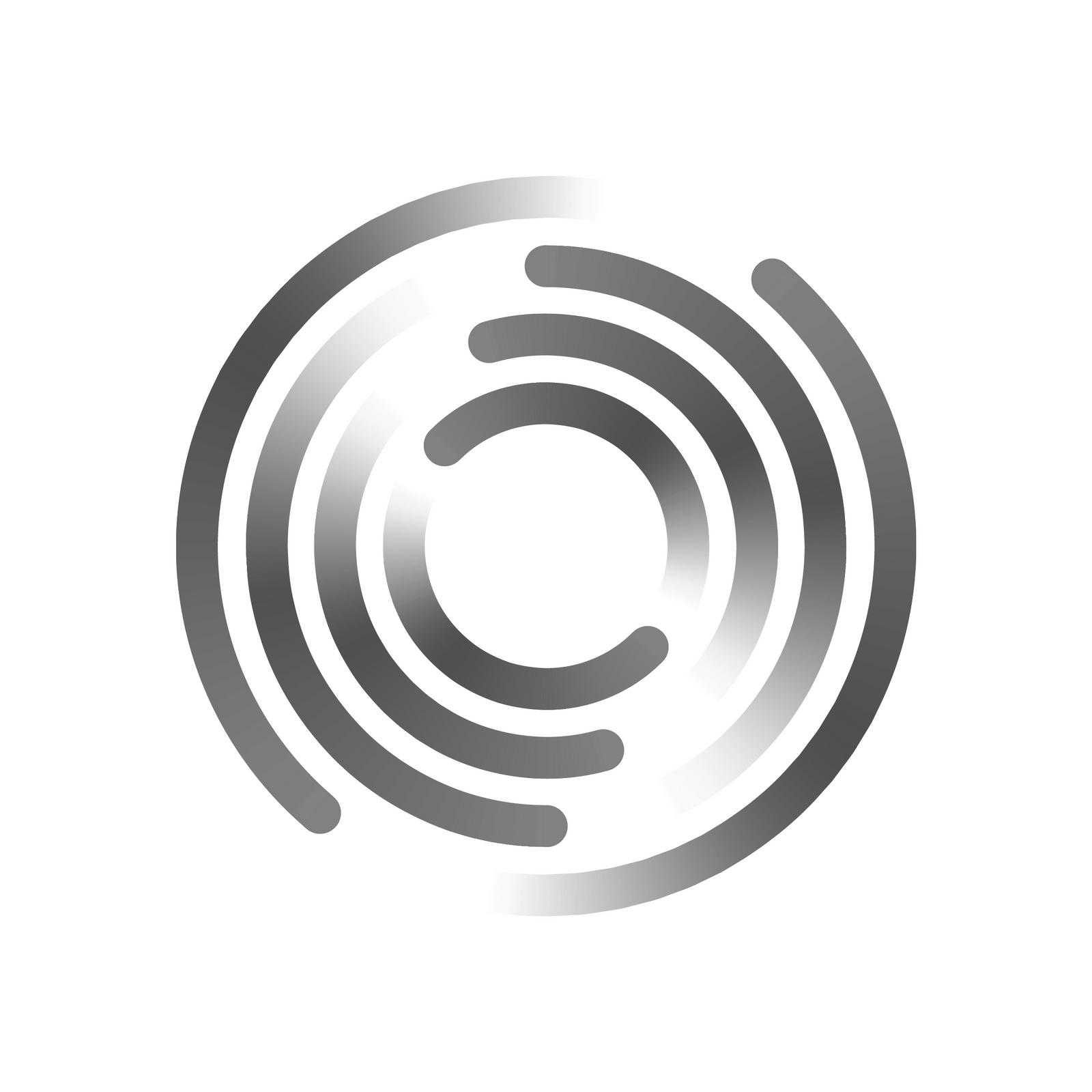 SecureCircle greyscale logo
