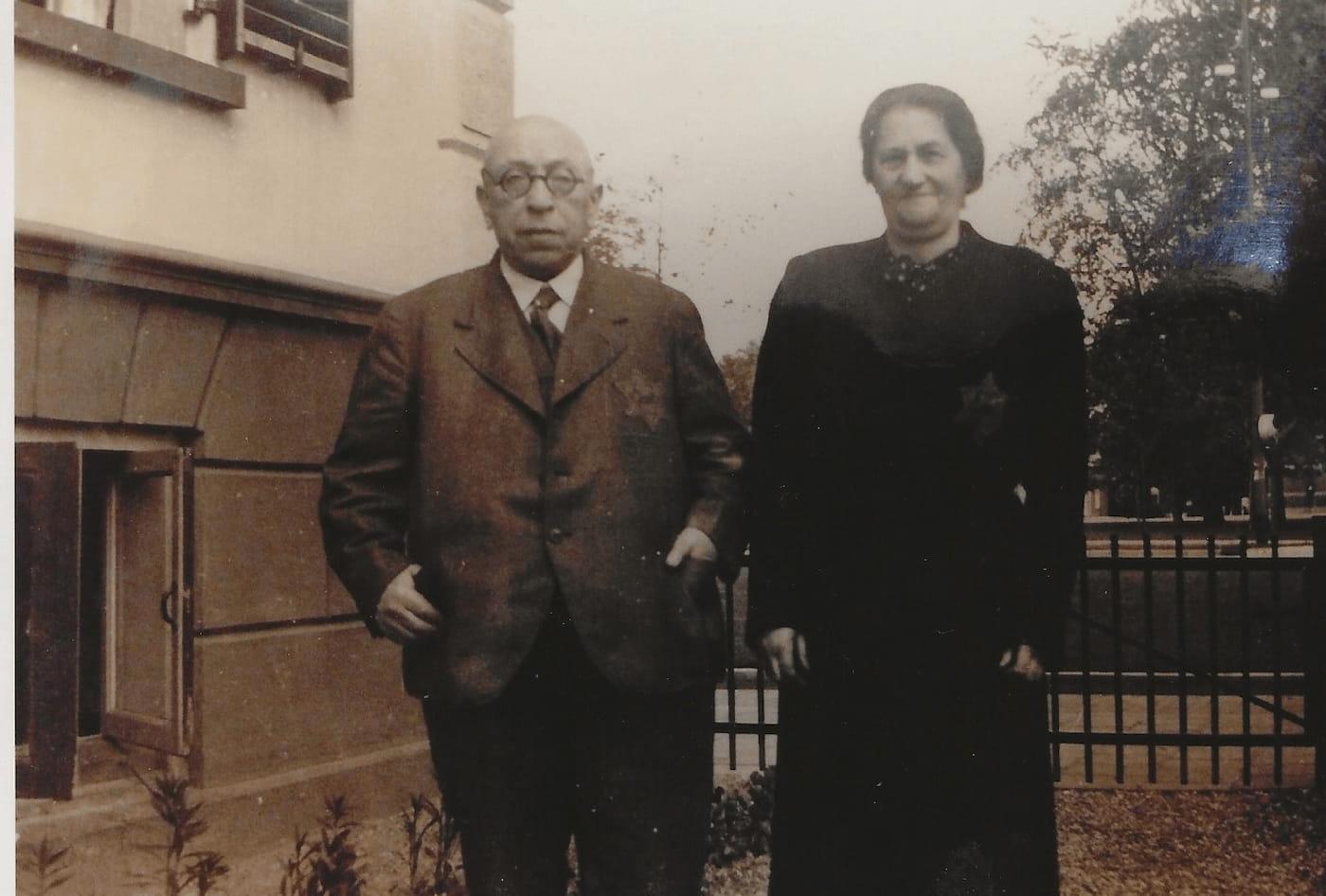 Echtpaar Isacson-Masur