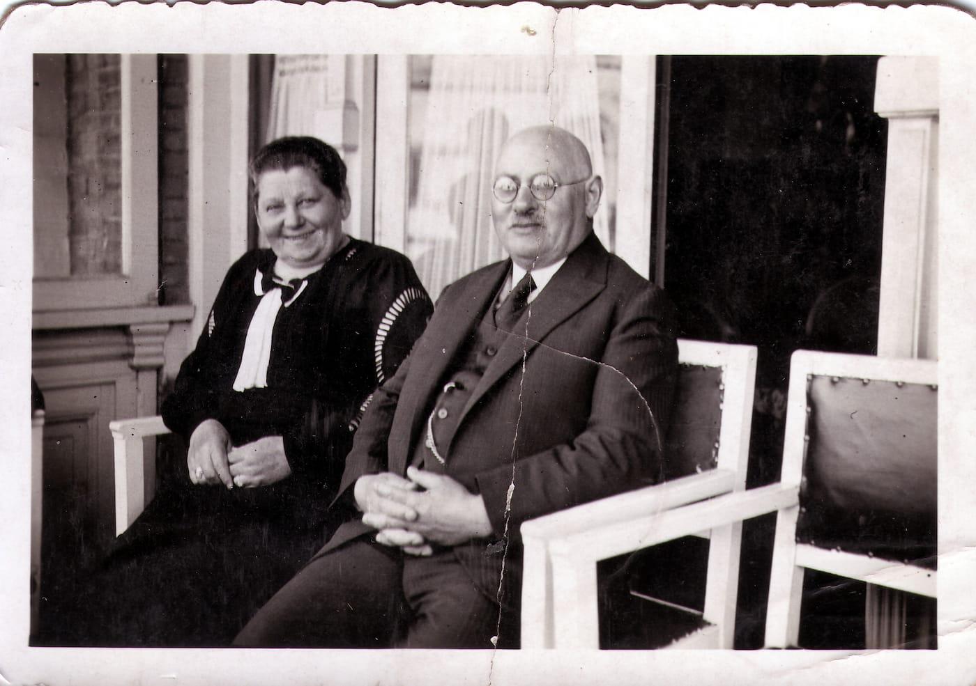 Echtpaar Weiler-Haas