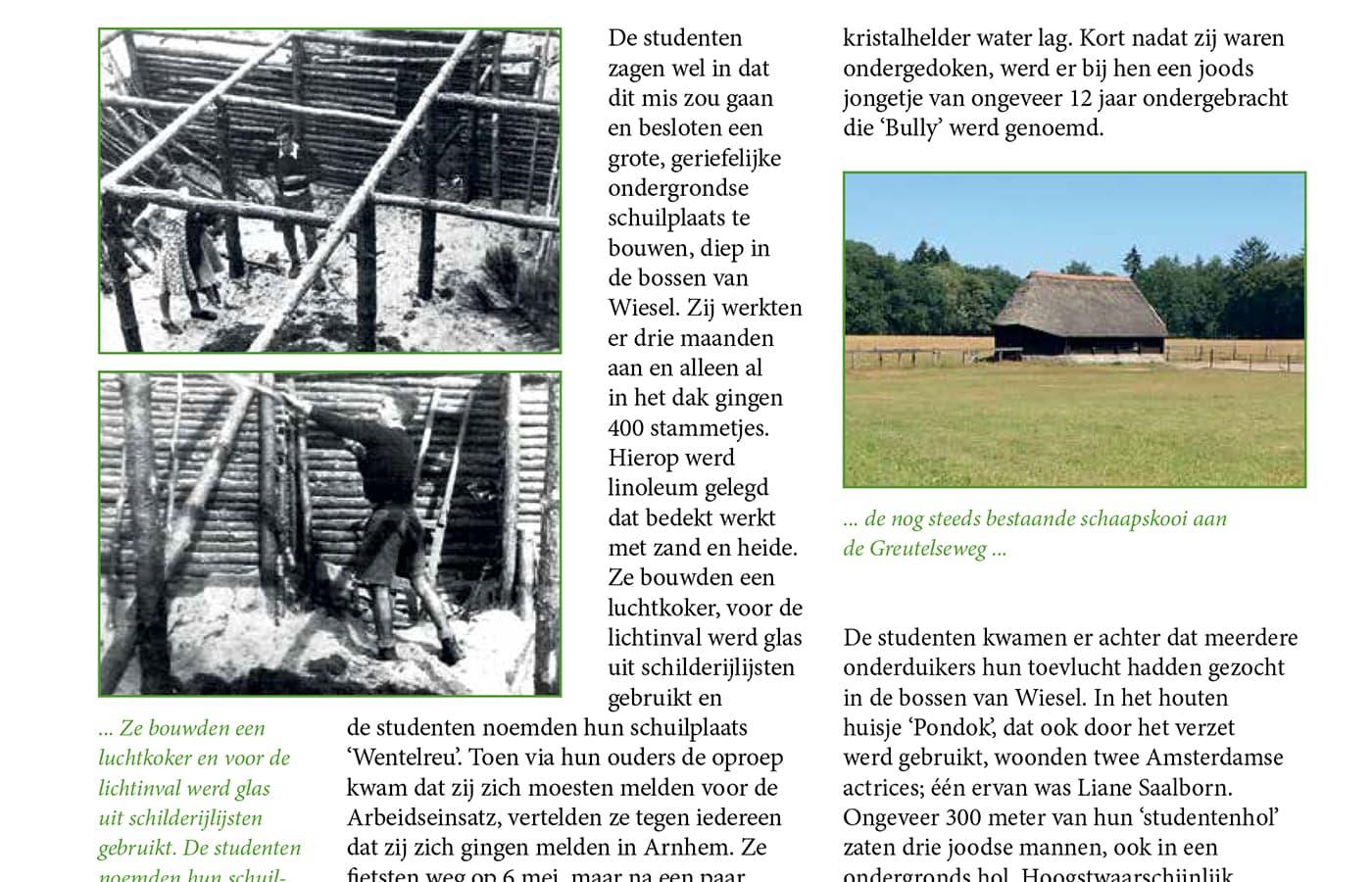Verraad in de bossen van Wiesel - media