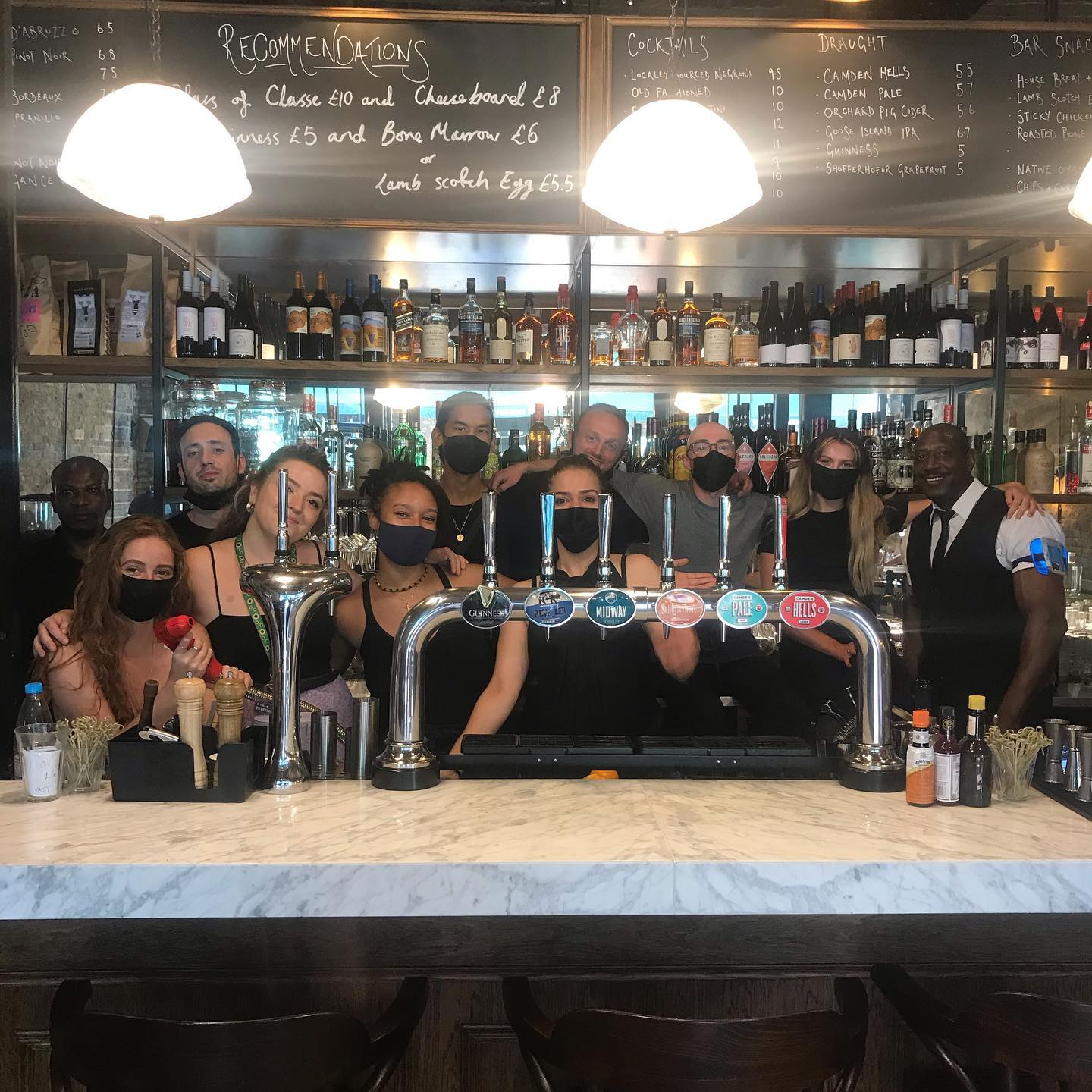 Team Farrier are ready to be serving you as the restrictions lift from Monday - who's ready to prop up our bar ? 🍻