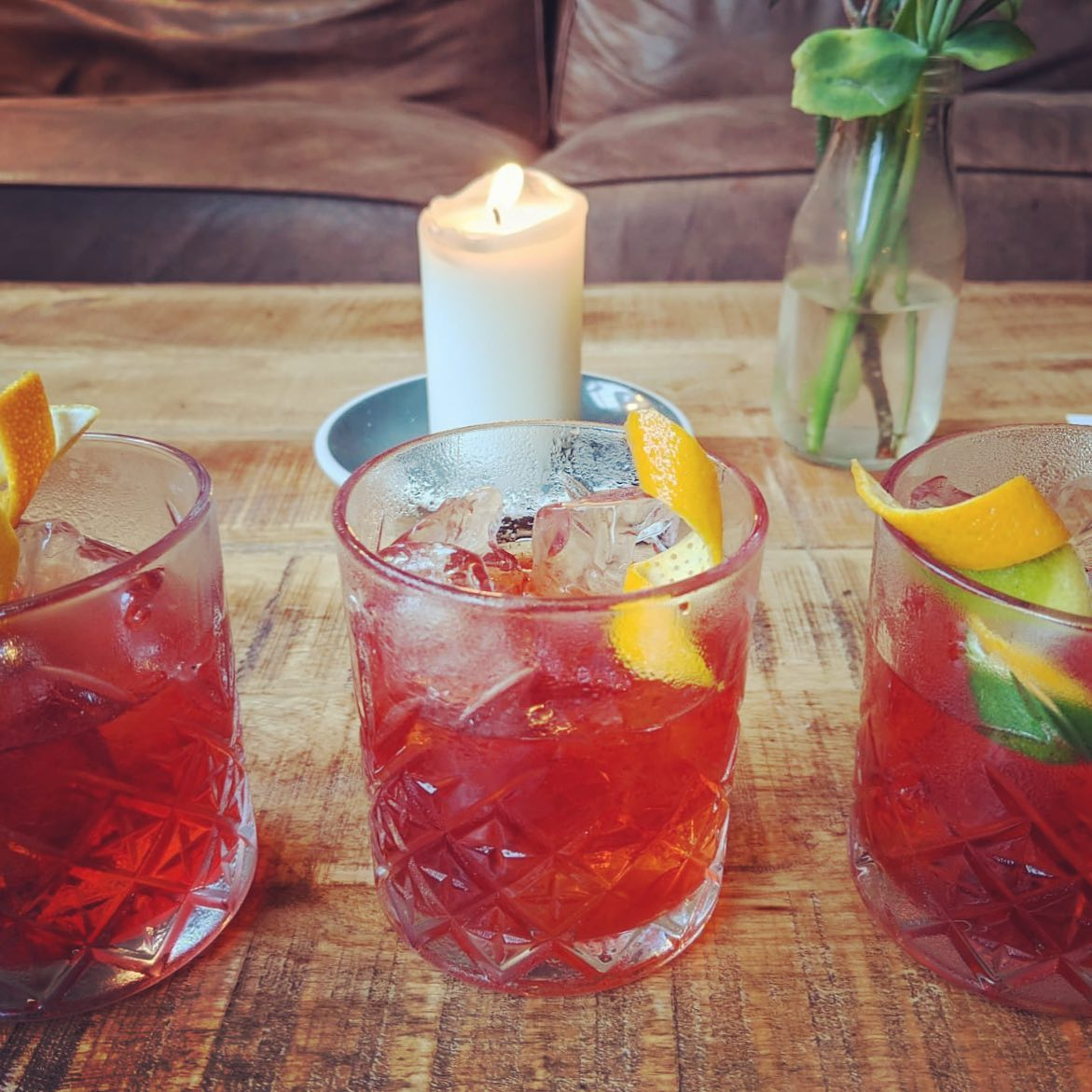 It's Negroni week all week at The Farrier. Come down and try some amazing creations. Tequila negroni anyone? . @portobelloroaddistillery  @halfhitchgin  @timeoutlondon  @mangroveuk  .
