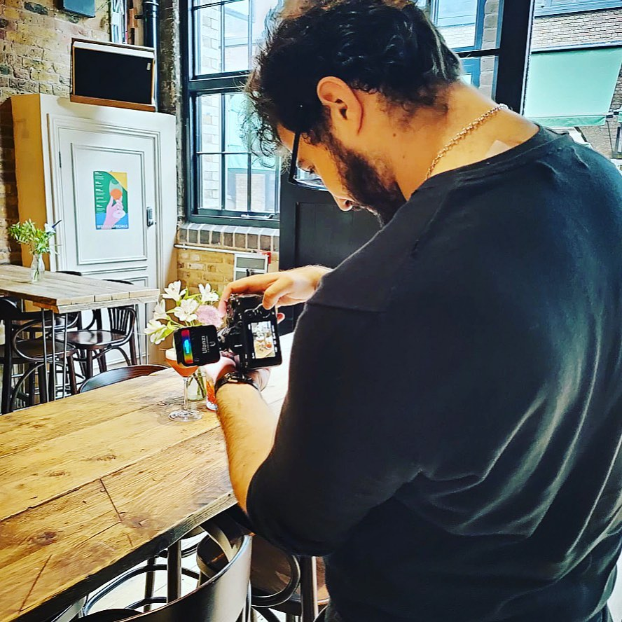 Great to have @secret.london down today taking snaps and snapping up some of our delicious specials.   Come on down and try some for yourself along side one of our amazing negroni creations, only available this week.  . @secret.london  @ashley_finch1  @portobelloroaddistillery  @mangroveuk