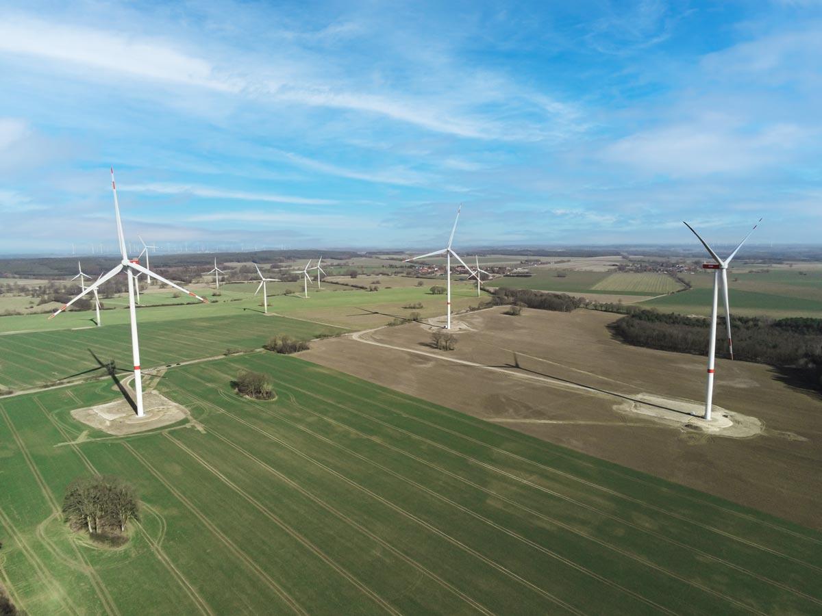 Windpark Reckenthin