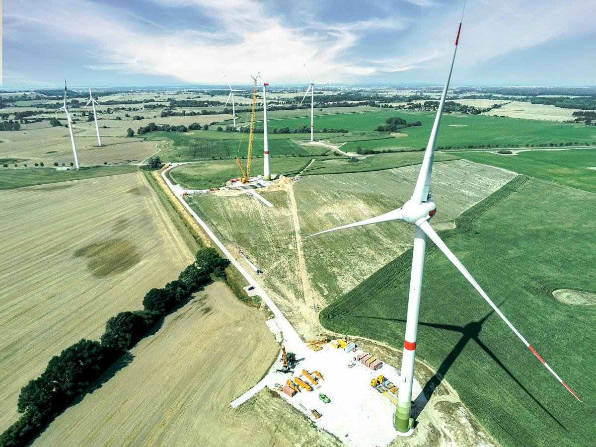 Windpark Kirch Mulsow