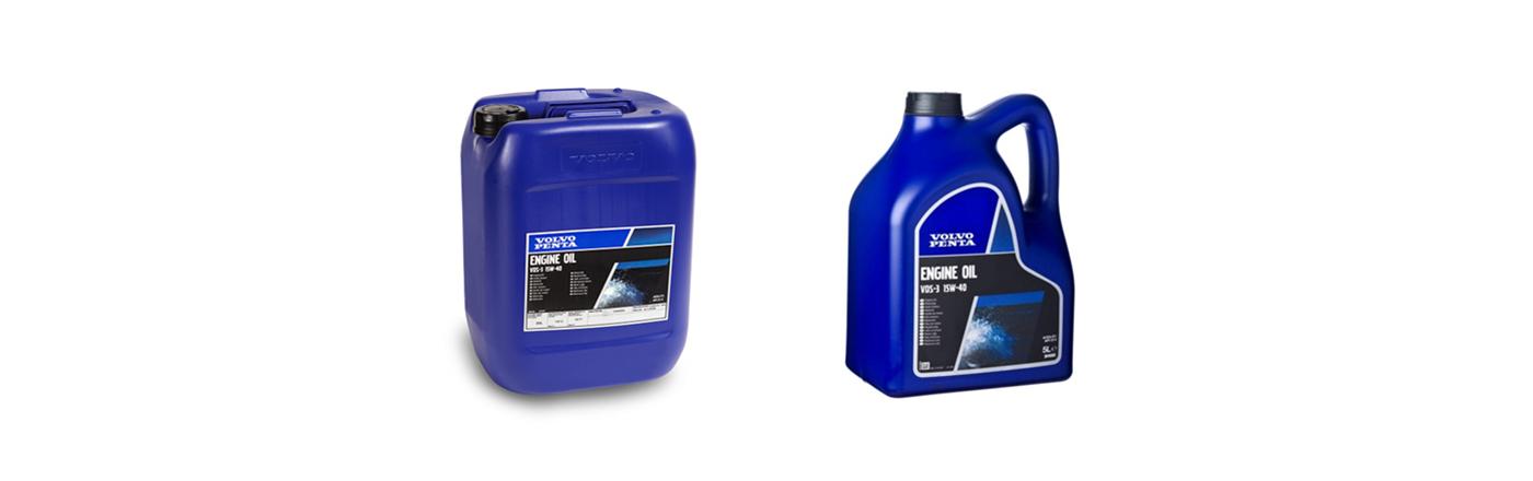 Motorolje kampanje på 5L og 20L kanner fra Volvo Penta