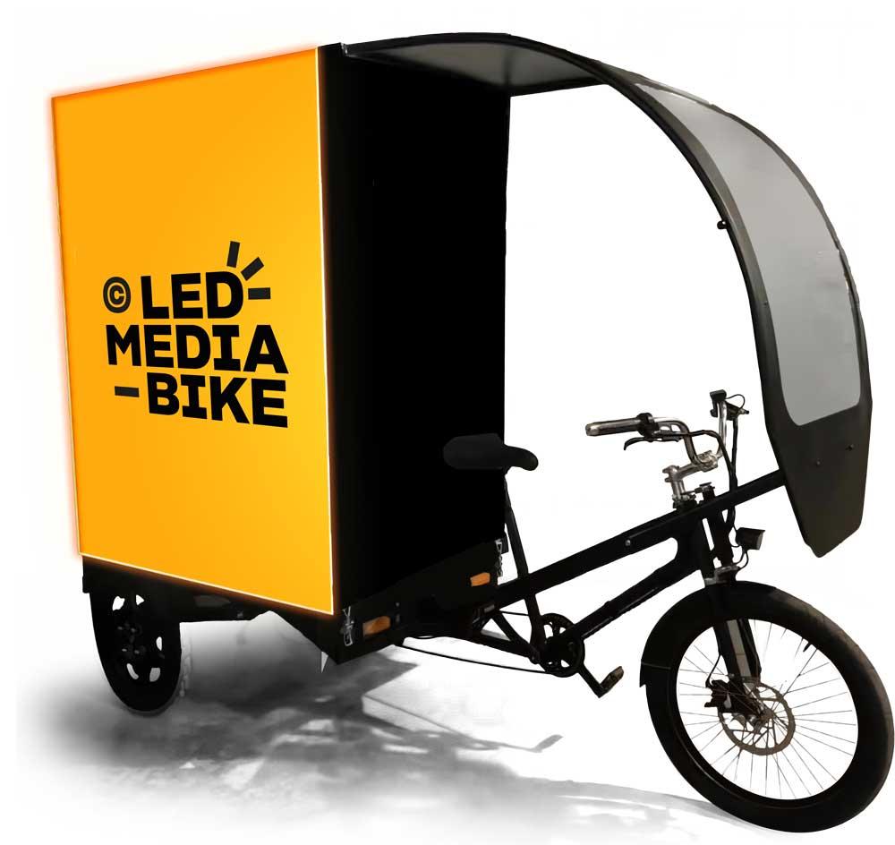 Découvrir le Led Media Bike