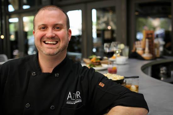 Chef Jeremy at Azur Restaurant Lexington Ky