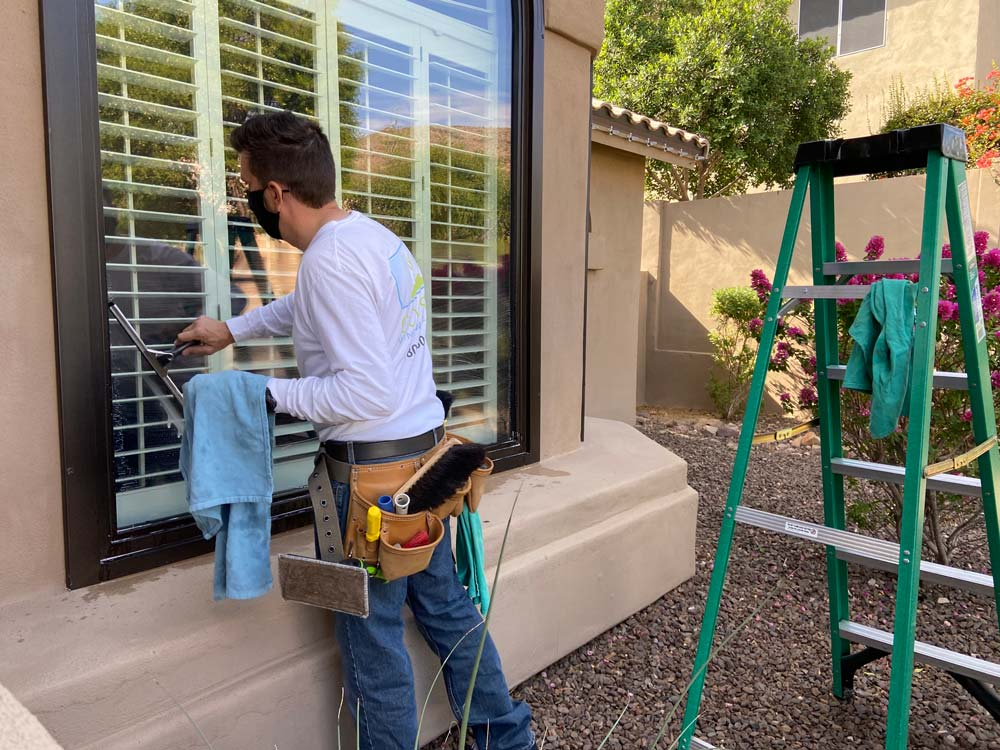 Window cleaning by Cousin's Window Cleaning, Ahwatukee