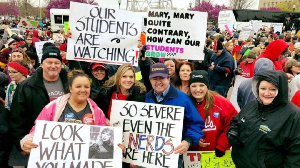 Oklahoma Teachers favor Drew Edmondson 3-to-1 over Kevin Stitt in governor's race