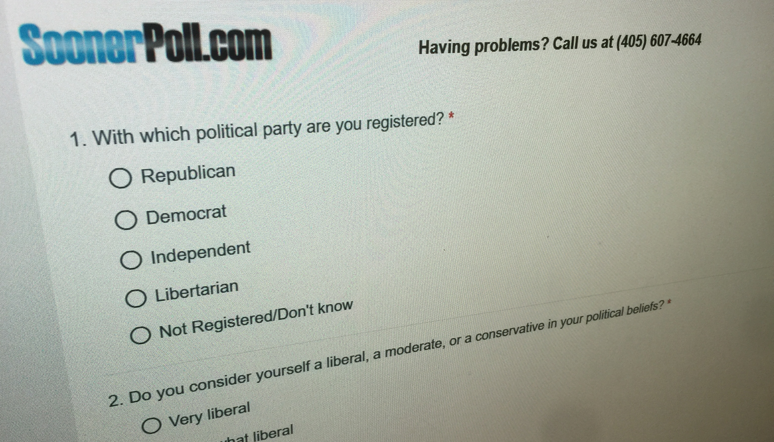 Inclusion of online panel in SoonerPoll's likely voter studies yields more robust results