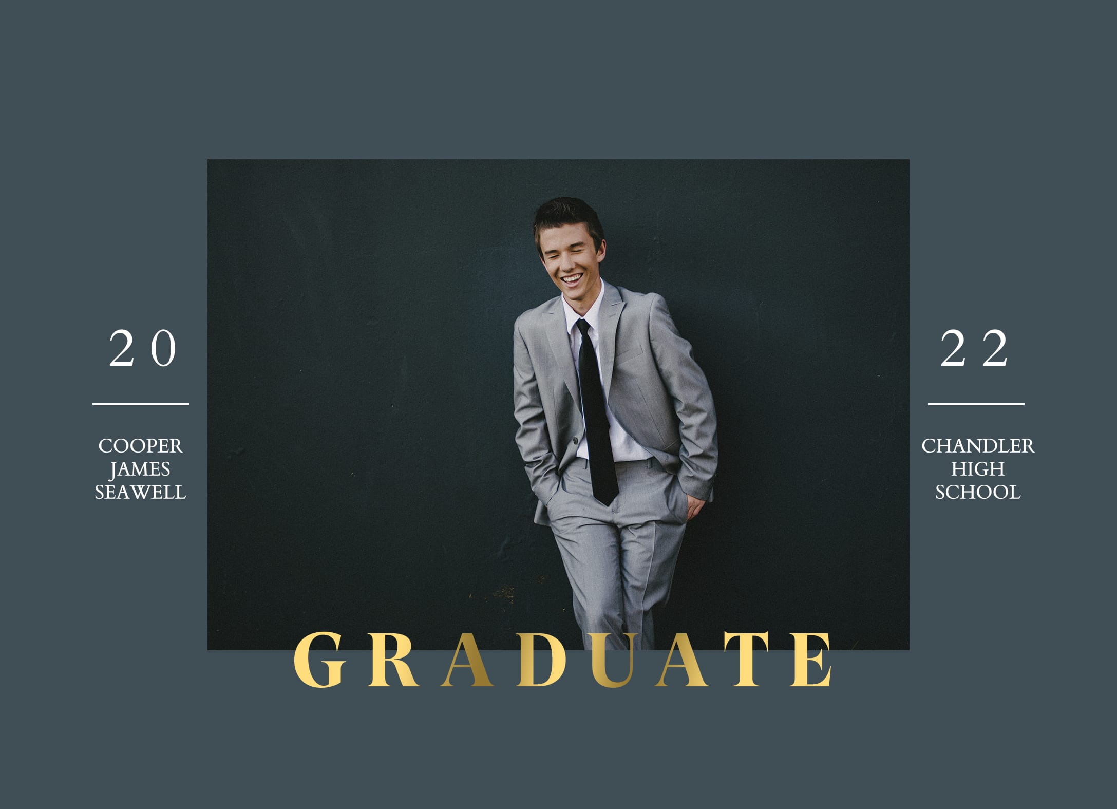 Distinguished Grad