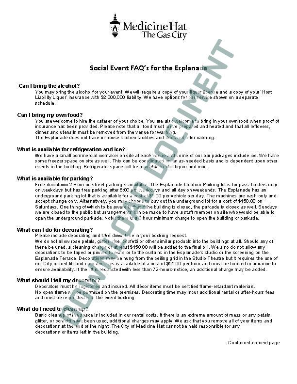 Rental FAQ PDF