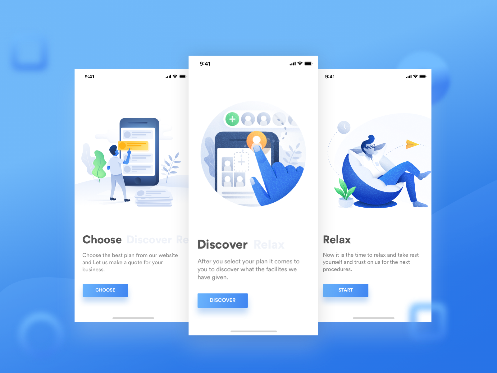 App Onboarding Page - UpLabs