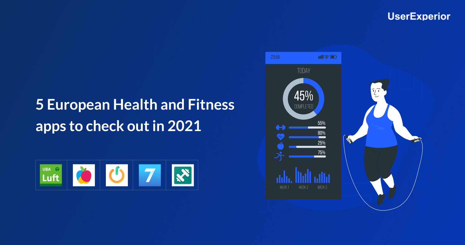 5 European Health and Fitness apps to check out in 2021