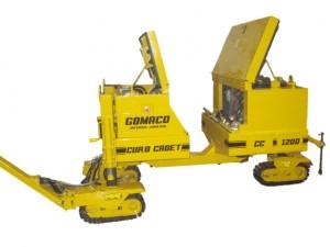 Letthåndterlig kantstøpemaskin fra Gomaco.
