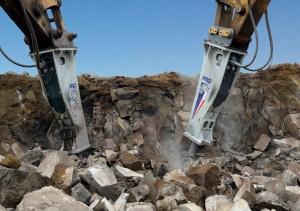 Furukawa har 130 års erfaring på hydrauliske slaghammere