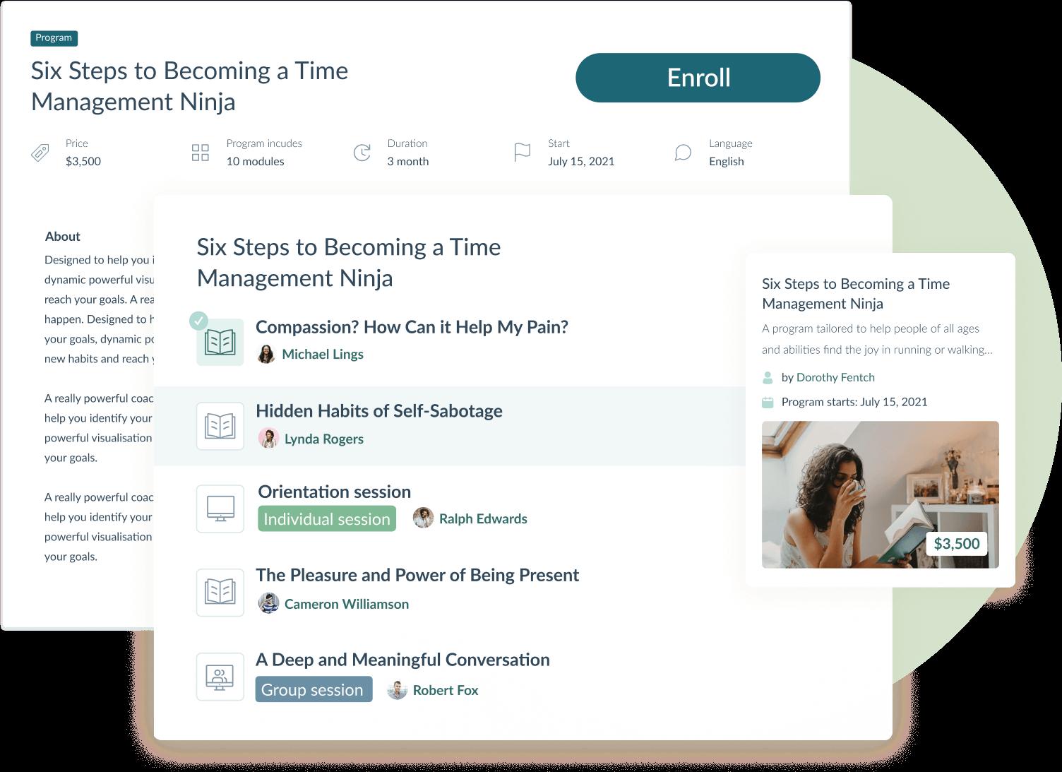 Interactive online training