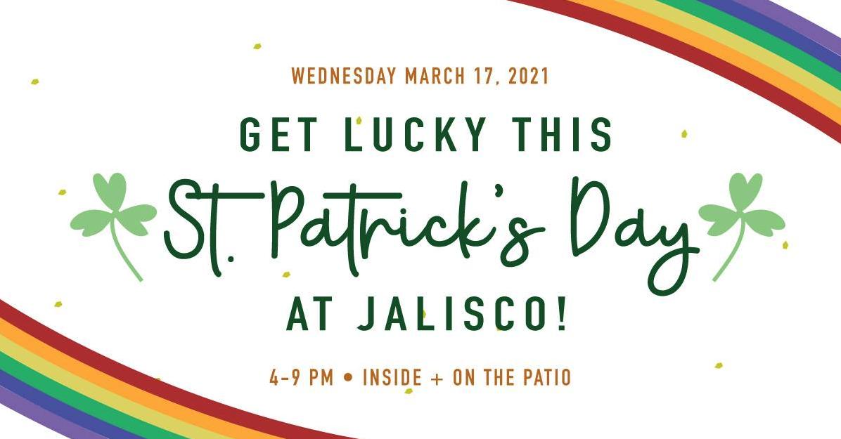 Jalisco Charleston, SC St. Patrick's Day