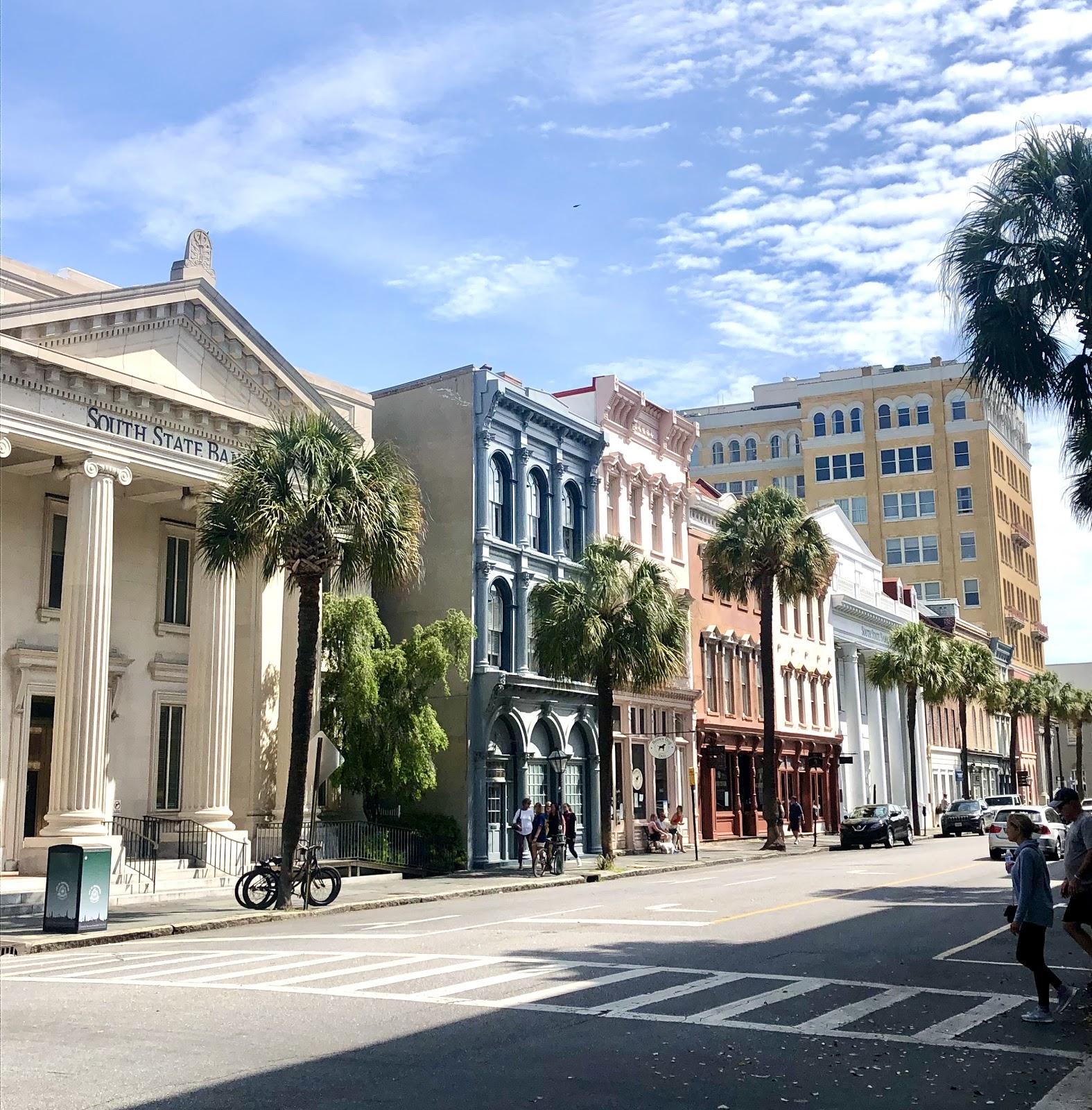 Historic Broad Street in Charleston, SC