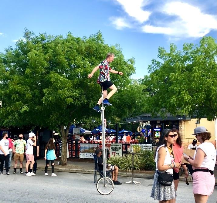 Performer at the North Charleston Arts Festival