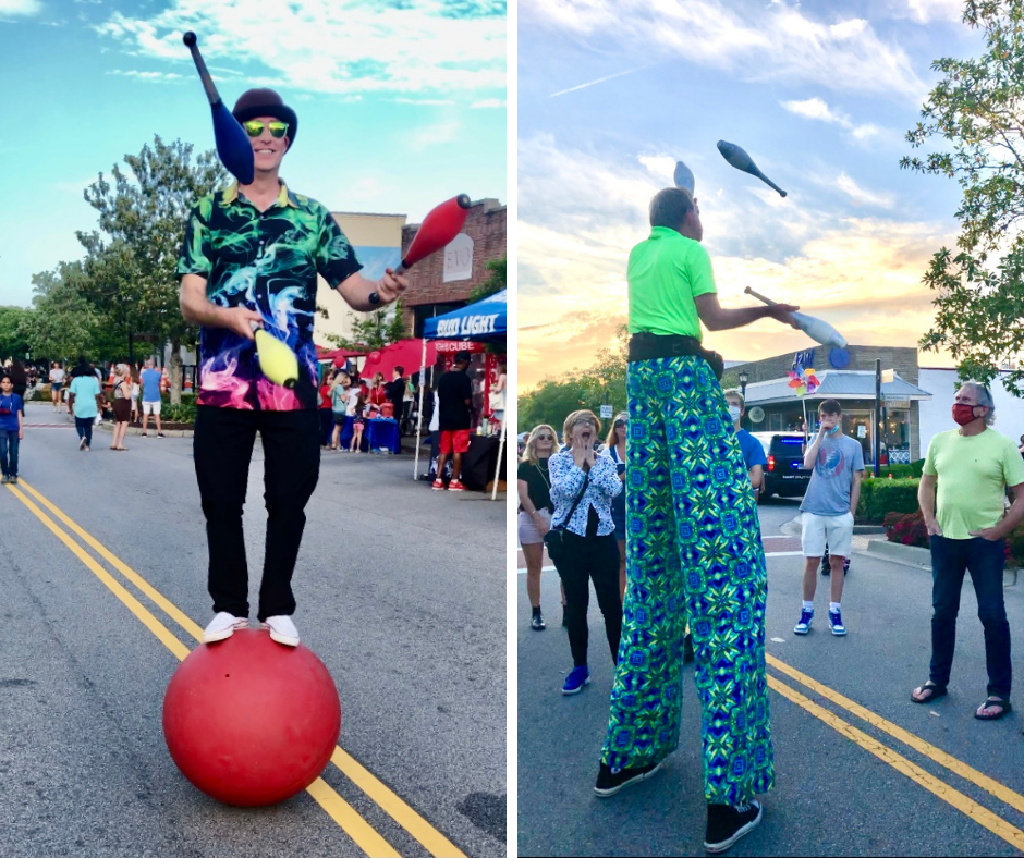 Performers at the North Charleston Arts Festival