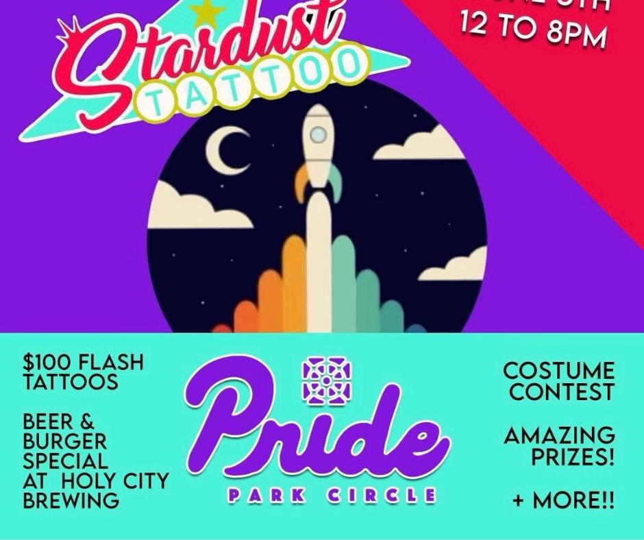 Pride Month at Stardust Tattoo Charleston, SC
