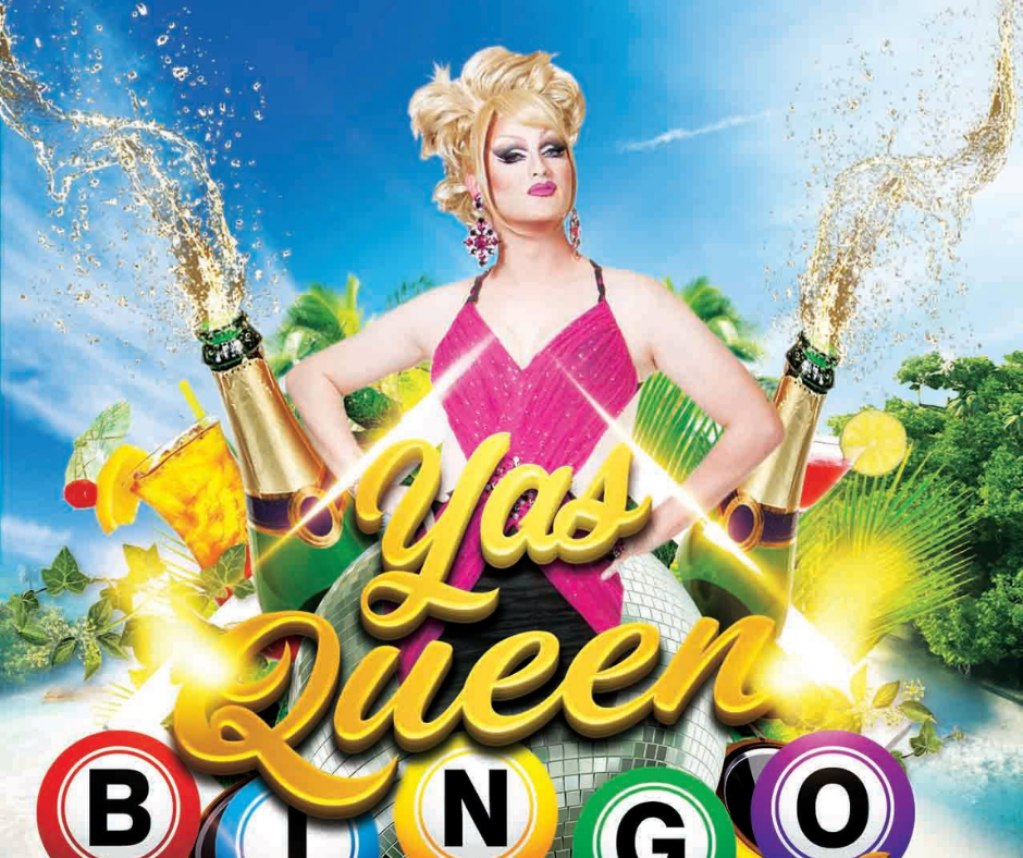 Yas Queen Bingo Brunch at Caroline's Aloha Bar