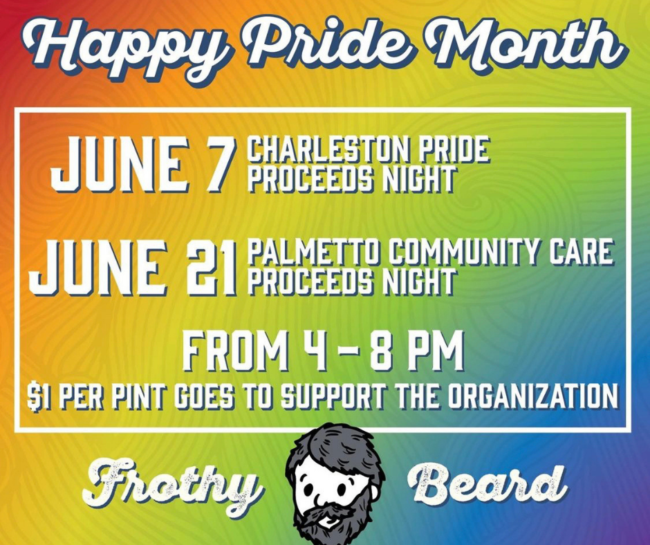 Pride Month at Frothy Beard Brewing