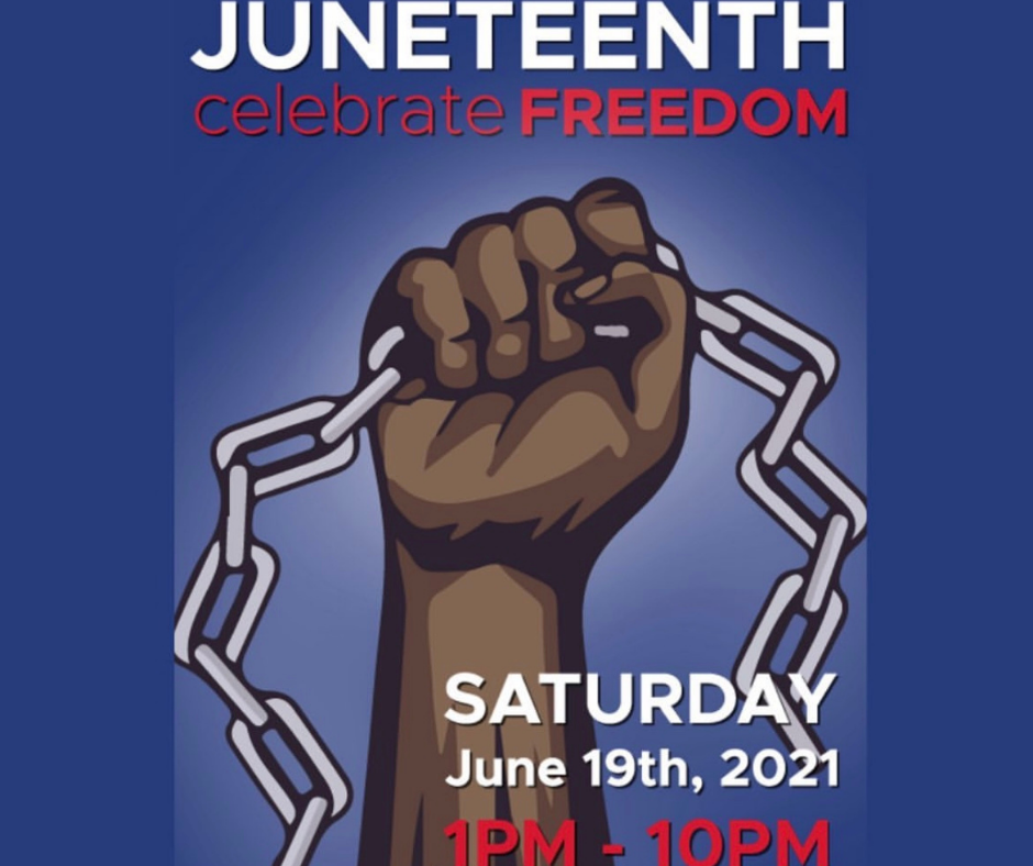 Juneteenth celebration at Martin Park