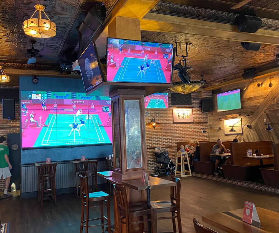 Watch the Olympics at Uptown Social in Charleston, SC