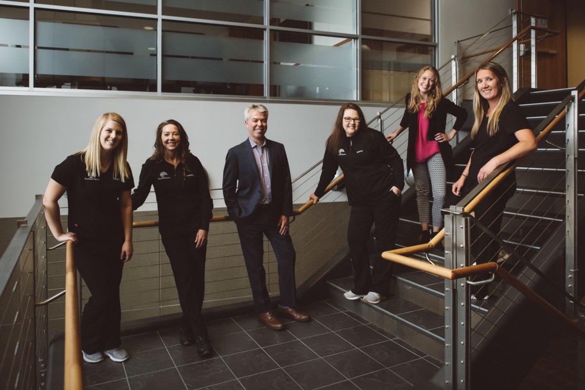 Photo of the Eastpark Dental team in the Eastpark Dental office