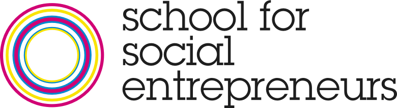School for social entrepreneurs logo.