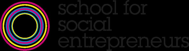 School for social entrepreneurs logo.