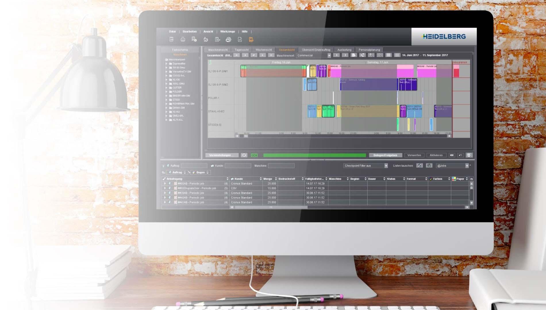 Heidelberg workflow & colour management
