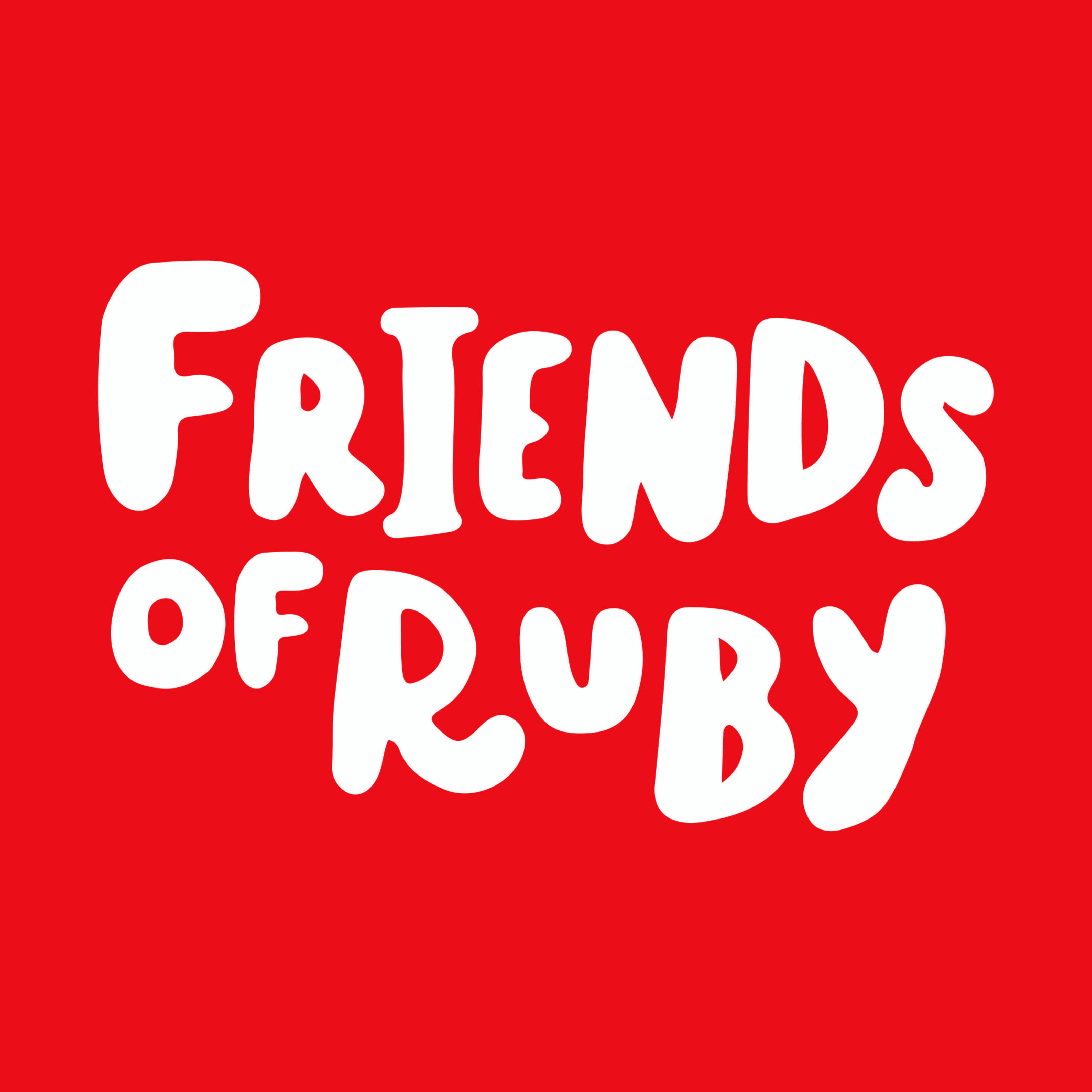 In addition to the rebrand, I developed a welcome package, given to youth who become a member of the Friends of Ruby community. Within the welcome package, youth will receive a branded Friends of Ruby tote bag, an informative booklet, Ruby pins, and stickers.